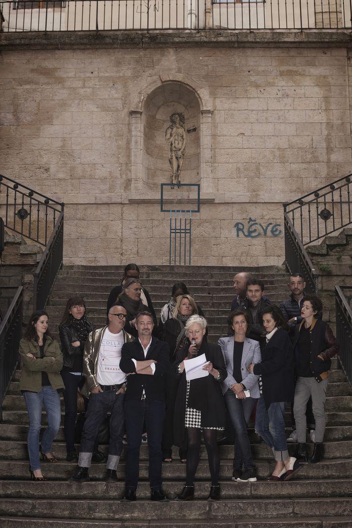 Le jury lors de la remise des prix ©Loic Benoit