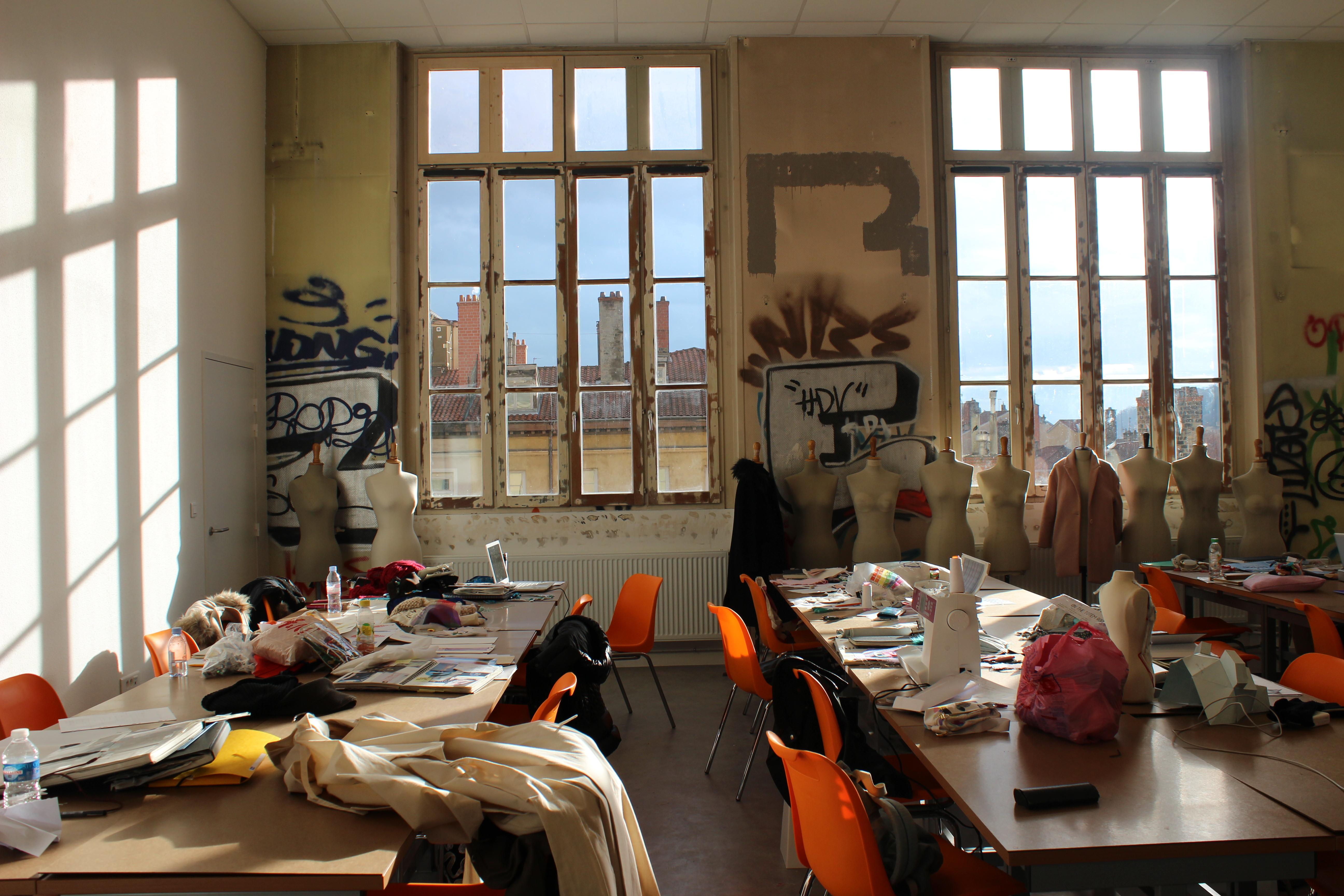 @Salle de classe ESMOD Lyon