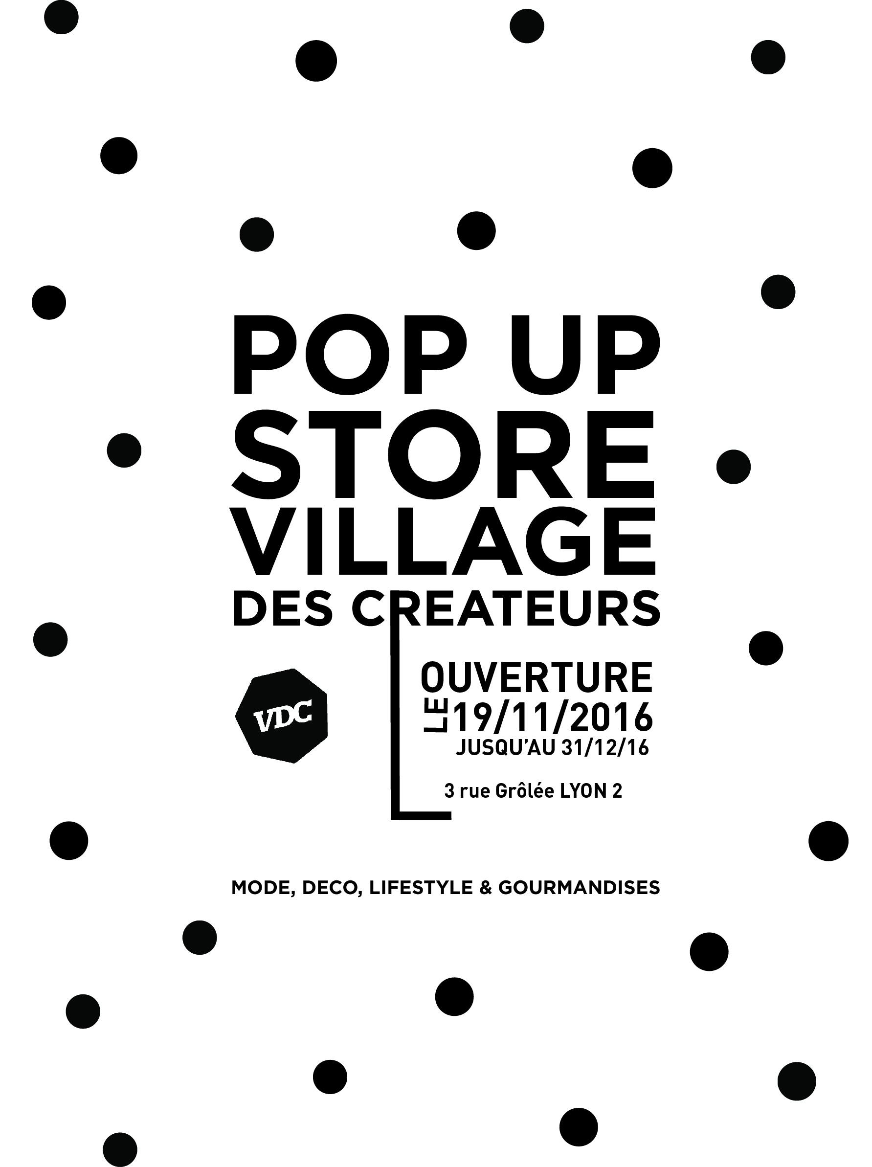 POP UP STORE Village des Créateurs