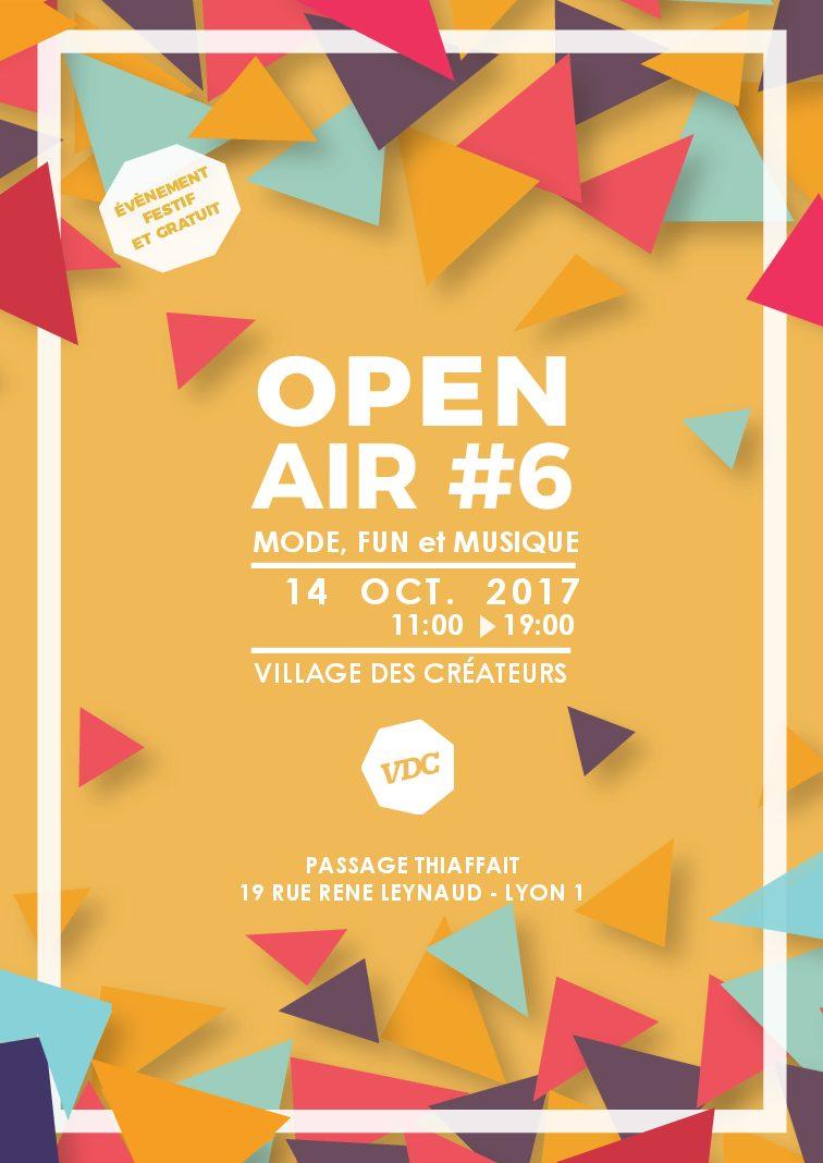 OPEN AIR #6 / SAMEDI 14 OCTOBRE