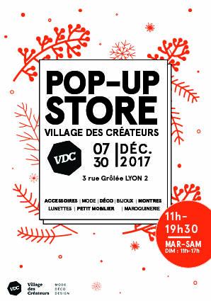 Pop Up Store de Noël par le Village des Créateurs