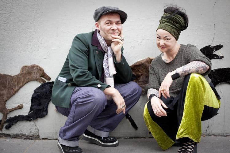 Anne & Julien, auteurs de Tatoueurs Tatoués