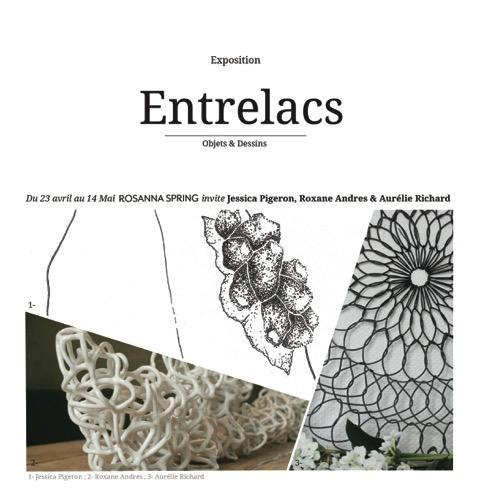 Exposition «Entrelacs» chez Rosanna Spring