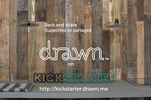 Drawn lance sa campagne de financement participatif