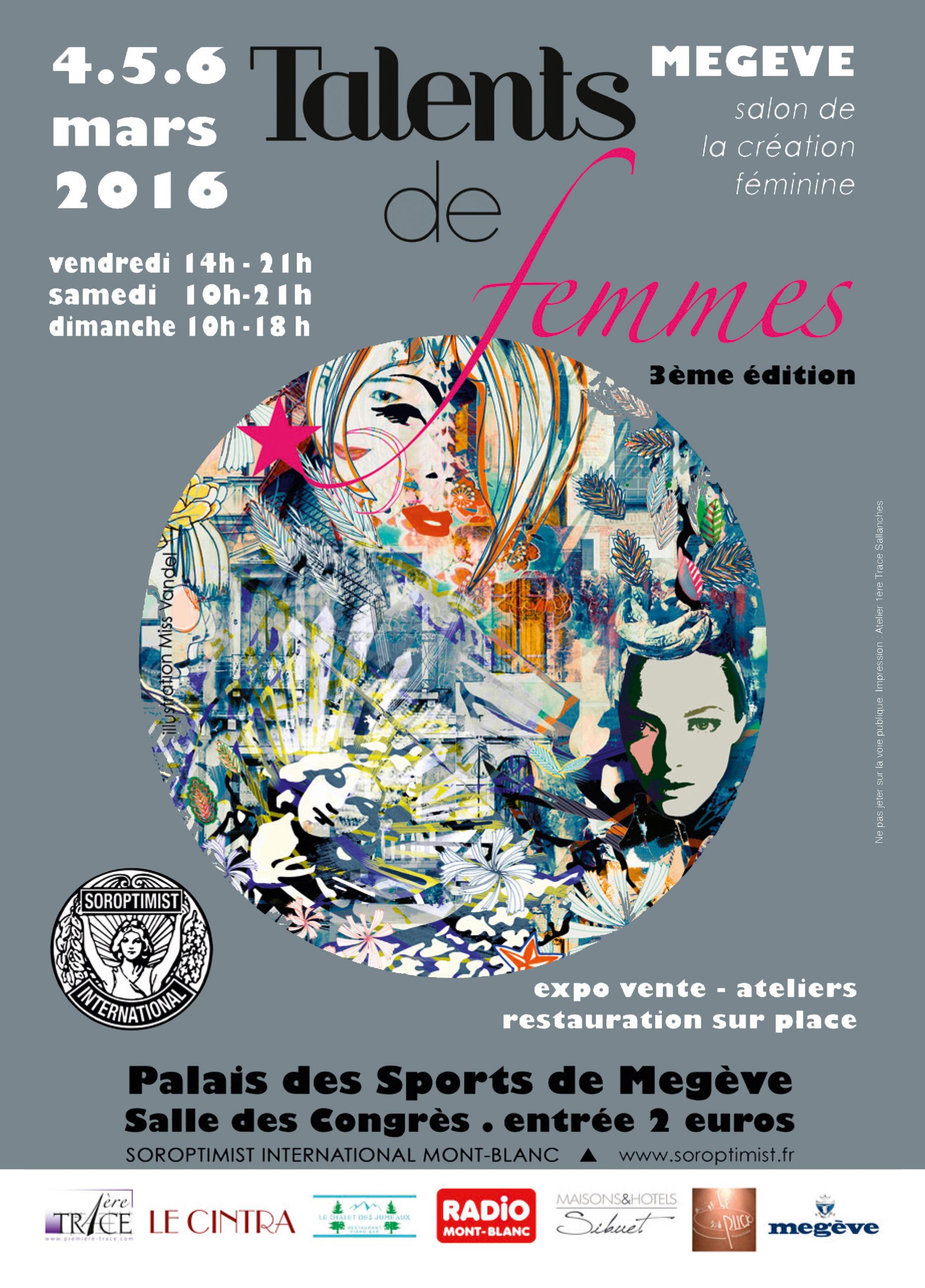 Talents de femmes Megève 2016 avec Lascloe