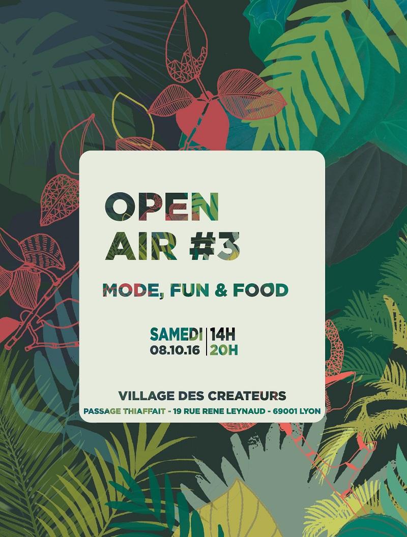 OPEN AIR 3 : samedi 8 octobre au VDC