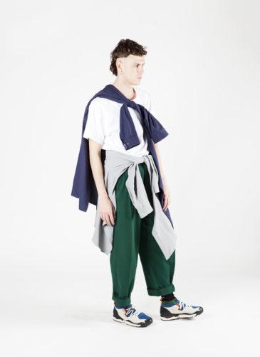 vêtement-unisexe-bleu-blanc-village-des-créateurs-lester-larson