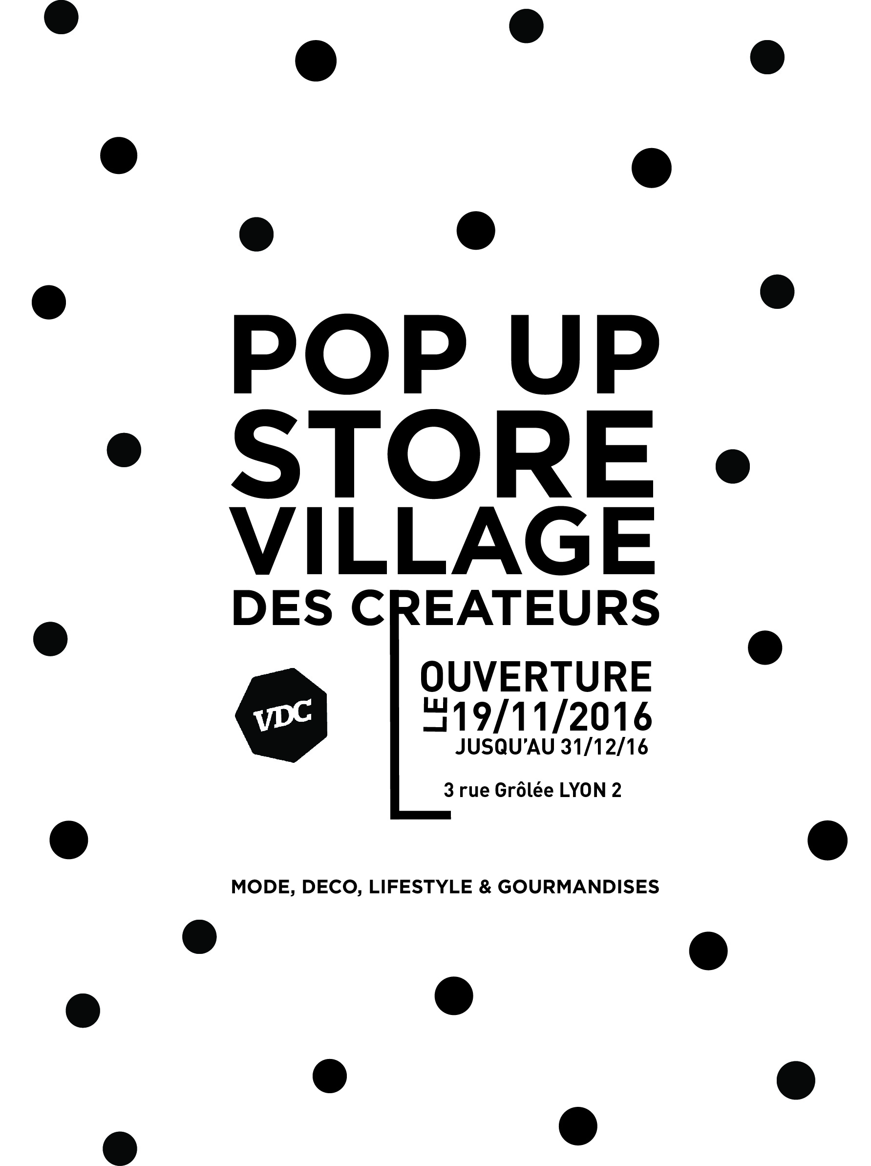 POP UP STORE Village des Créateurs