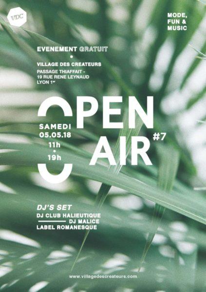 Open Air #7 / Samedi 5 mai 2018