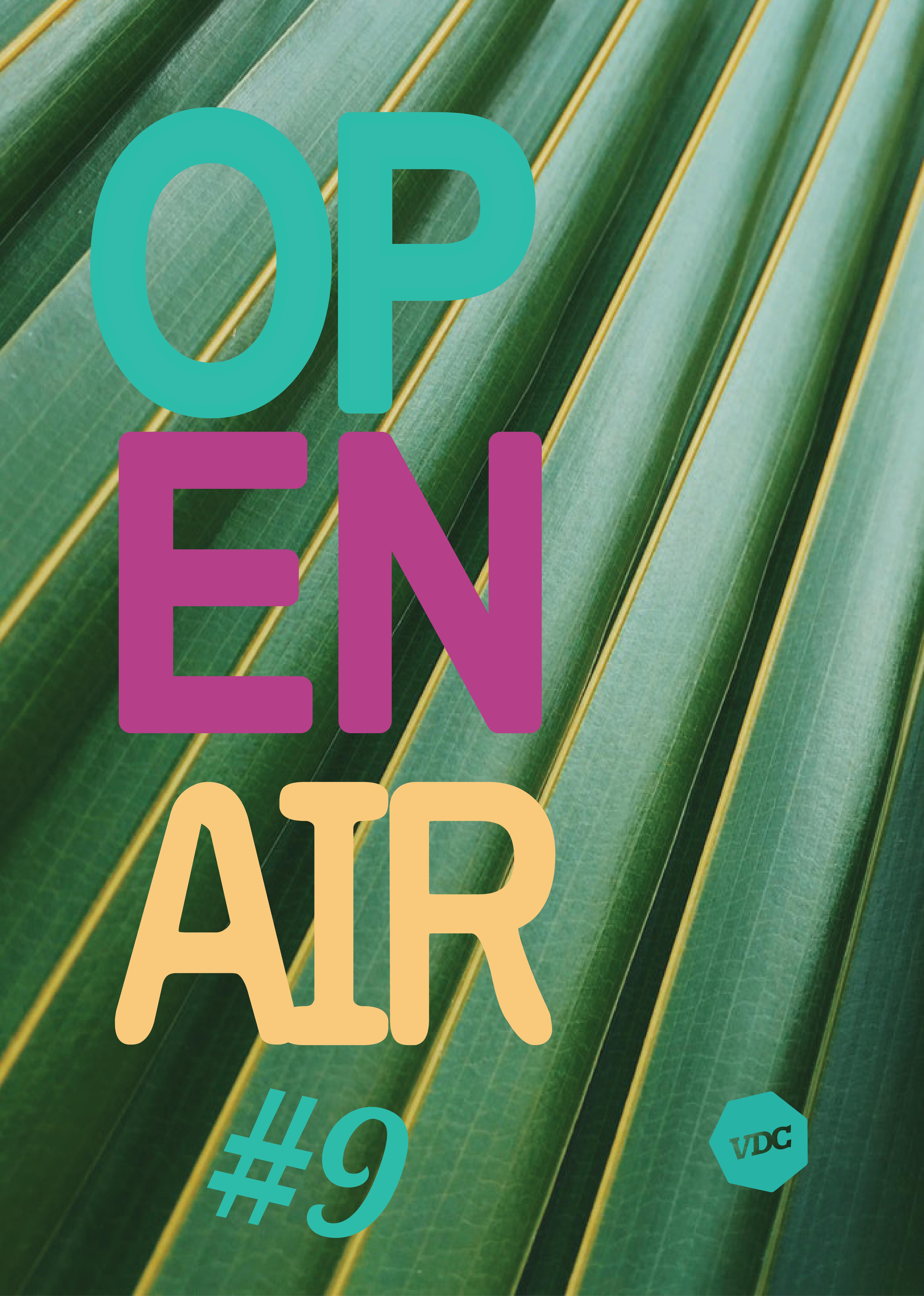 OPEN AIR #9 : rendez-vous le samedi 13 octobre