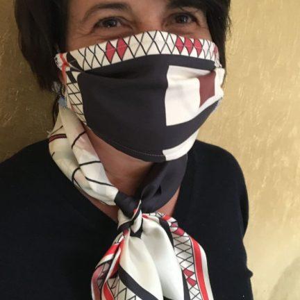 Masque Barrière en Soie