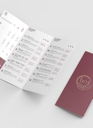 Carte des vins créée par Tico Lab