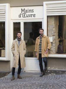 Quentin & Dorian, les créateurs de Mains d'OEuvre