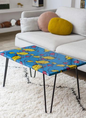 Grande table à motifs Tizù