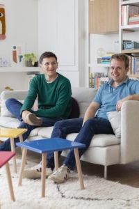 Ludovic et Paul, créateurs de Tizù