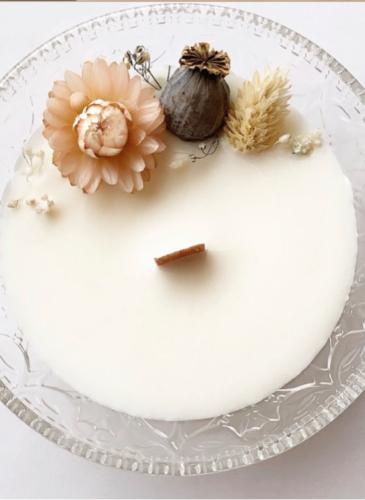 Bougie cire végétale Natural Cocoon