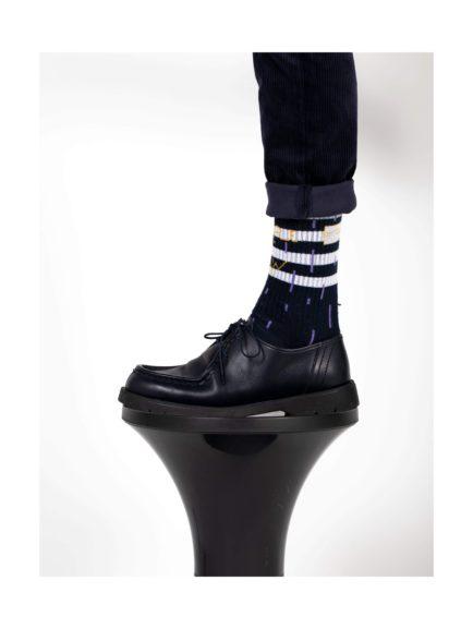 Chaussette noire Marchillsocks