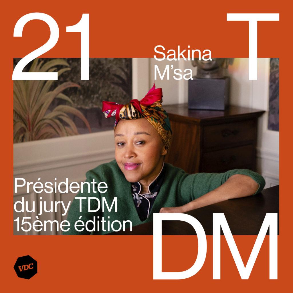 Sakina M'sa, présidente du jury Talents de Mode 2021